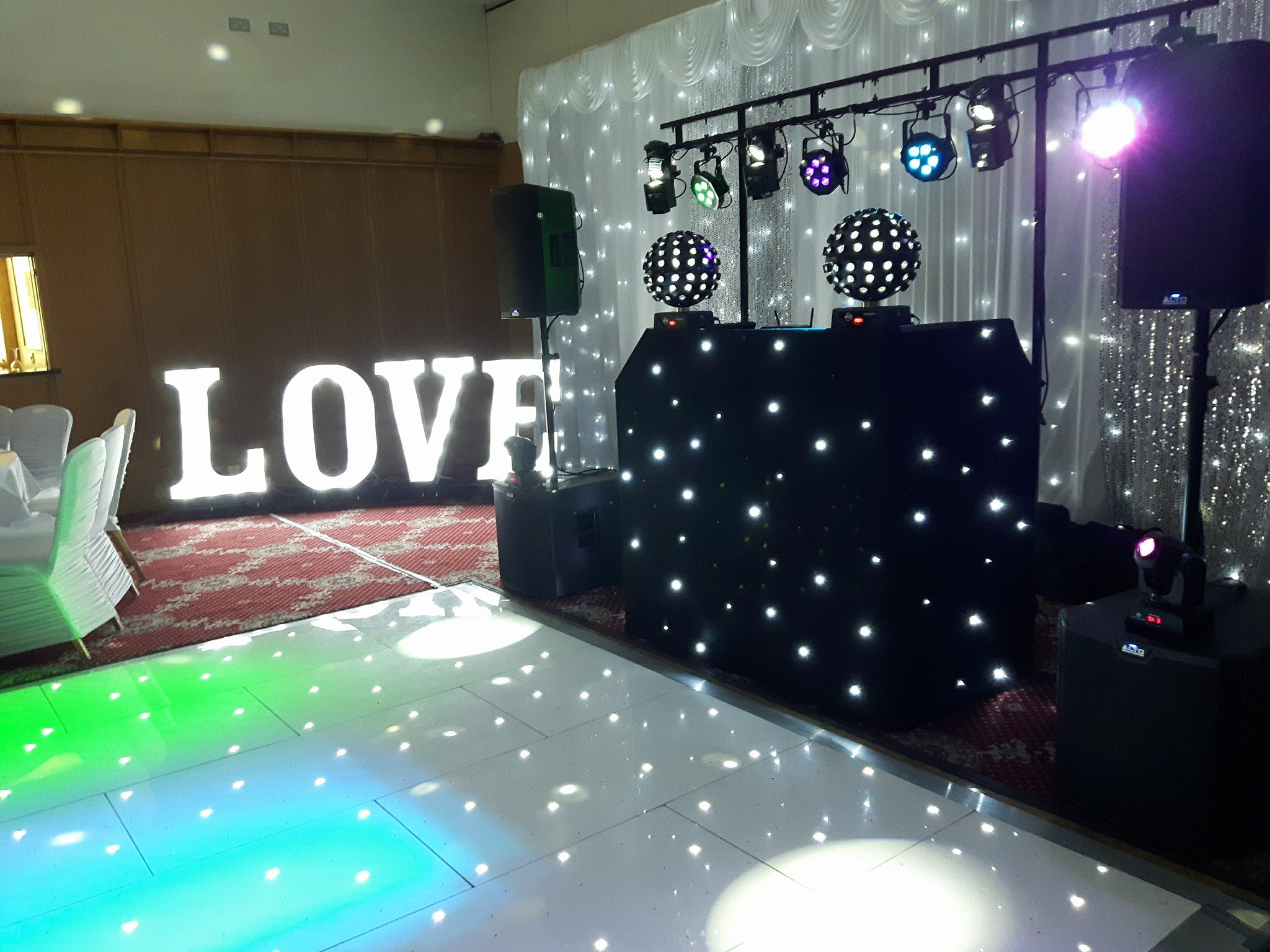 LED Dancefloor Hire Belfast